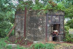 old cemeteries | Old crematory oven in Holt Cemetery. New Orleans, Louisiana,