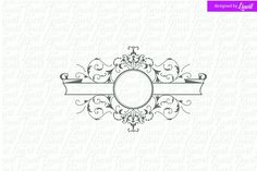 Ad: Luxury, Royal Wedding Logo by Linvit on Dear Client, This is a digital print ready monogram that can be used as a wedding monogram for your wedding stationary for example, on save Wedding Logos, Monogram Wedding, Wedding Stationary, Wedding Monograms, Business Illustration, Pencil Illustration, Business Card Logo, Business Card Design, Label Design