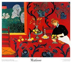 Matisse-Had to recreate part of this one for a project in design school.