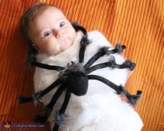 Spider Attack - Baby Halloween Costume Idea
