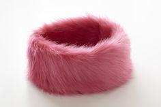 Fab, furry headband from A-Dee.