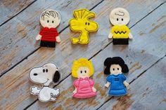 Títeres de dedo de Charlie Brown por MarysDaughters en Etsy