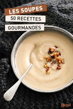 ultra-gourmet soup recipes to warm you up this winter! , 50 ultra-gourmet soup recipes to warm you up this winter! , 50 ultra-gourmet soup recipes to warm you up this winter! Easy Soup Recipes, Bread Recipes, Healthy Recipes, Fruit Recipes, Batch Cooking, Entrees, Food Porn, Food And Drink, Favorite Recipes