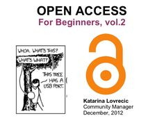Open Access for Beginners, vol. 2
