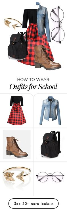 """Barb (?)"" by lindseyjoelleadams on Polyvore featuring Avenue, LE3NO, EF Collection and StrangerThings"