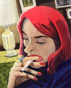 Zohar Lazar - smoking woman s.jpg