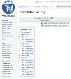 """Iraq adopted a new national constitution in 2005 with UN help. This charter includes some good provisions but also ensures state-supervised parenting, socialized education, guaranteed health and housing and income, """"social justice,"""" central banking, a politically-controlled economy, socialized petroleum, coercive funding of science and culture, and even state-provided sports. And, although it mentions many inalienable rights and civil liberties, it often claims that these may be limited by…"""