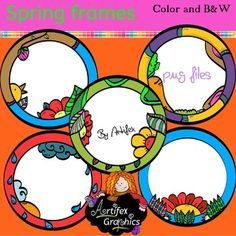 Here's a collection of 10 spring frames! | by Artifex #Free
