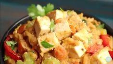"Vegan Omelet with Mung Bean ""Egg"" - Vegan Richa Vegan Gluten Free, Gluten Free Recipes, Vegan Vegetarian, Vegan Recipes, Vegan Pizza, Vegan Pumpkin, Recipe For 4, Vegan Butter, Vegan Chocolate"