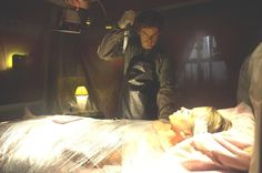 """The way Dexter wraps his victims has changed over the seasons. 