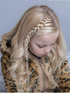 160 Braids Hairstyle Ideas for Little Kids 2019 – Braided hairstyles Kids Braided Hairstyles, Little Girl Hairstyles, Trendy Hairstyles, Short Haircuts, Hairdos, Braids For Kids, Girls Braids, Little Girl Braids, Lace Braid
