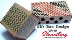 Repurposed Gift Boxes submitted to InspirationDIY.com