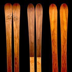 handmade ski