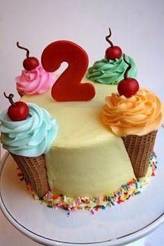 Ice Cream Cake Designs and Ideas Ice Cream Cone Cake