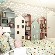 Home Bedroom House Design Family Nursery White Property Baby Bedroom, Girls Bedroom, Bedroom Decor, Childs Bedroom, Bedrooms, Kids Bedroom Storage, Kids Storage, Clever Kids, Creative Kids Rooms