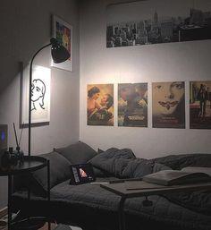 Bedroom Setup, Room Design Bedroom, Room Ideas Bedroom, Home Room Design, Small Room Bedroom, Punk Bedroom, Small Bedroom Hacks, Small Room Decor, Small Room Design