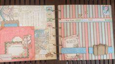 Álbum scrapbooking colección Come Away