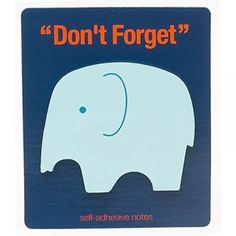 Sticky Notes Don't Forget Fridge Magnet