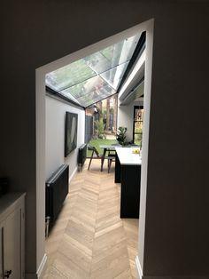 House Extension Design, Extension Designs, Extension Ideas, Side Return Extension, Rear Extension, Kitchen Extensions, House Extensions, Narrow Kitchen Extension, Conservatory Ideas