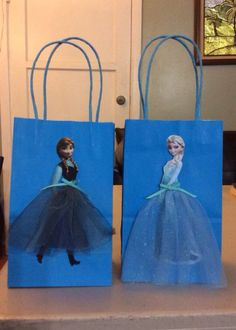 Frozen party packs. Blue