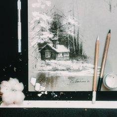 Pastel works by Elena Tatkina