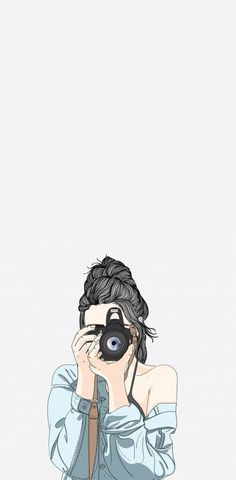 Cute Girl Wallpaper, Cute Wallpaper Backgrounds, Cute Cartoon Wallpapers, Iphone Wallpapers, Cartoon Girl Images, Cartoon Art Styles, Girl Cartoon, Cute Girl Drawing, Cartoon Girl Drawing