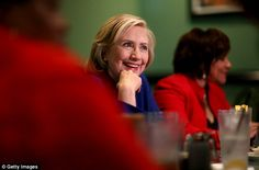 THEATER IN THE ROUND(table): Clinton has been criticized for hosting 'staged' events including hand-picked sycophants instead of the 'everyday Americans' she says she wants to attract