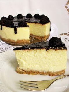 Sernik Amerykański - Gotowanie...to proste! Polish Recipes, Cheesecakes, Yummy Cakes, Food Hacks, I Foods, Cake Recipes, Food And Drink, Cooking Recipes, Sweets
