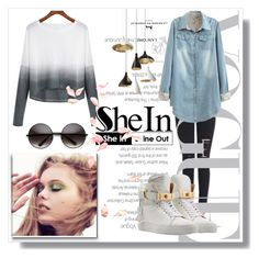 """shein"" by karolay-marquez-bustamante ❤ liked on Polyvore featuring BUSCEMI, women's clothing, women, female, woman, misses and juniors"