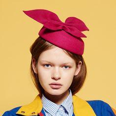 Petit chapeau, bibi Jeanne de Mademoiselle Chapeaux fabriqué en France
