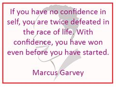 Confidence can let you get over every difficult. #successquotes