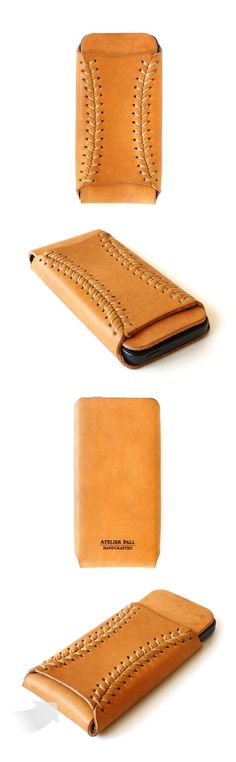 Atelier Pall••Leather iPhone Sleeve