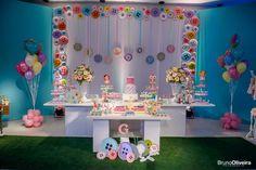 decoração de festa personalizada turma da monica - Pesquisa Google