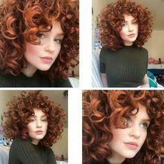 58 Ideas hair cuts short curly natural curls love her Curly Hair Styles, Short Curly Hair, Hair 2018, Ginger Hair, Great Hair, Hair Dos, Gorgeous Hair, Pretty Hairstyles, Hair Inspiration