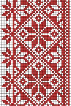Tapestry Crochet Patterns, Fair Isle Knitting Patterns, Knitting Charts, Weaving Patterns, Cross Stitch Borders, Cross Stitching, Cross Stitch Embroidery, Cross Stitch Patterns, Crochet Cross