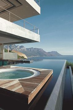 Having a pool sounds awesome especially if you are working with the best backyard pool landscaping ideas there is. How you design a proper backyard with a pool matters. Amazing Swimming Pools, Natural Swimming Pools, Natural Pools, Infinity Pools, Backyard Pool Landscaping, White Building, Luxury Pools, Dream Pools, Pool Houses