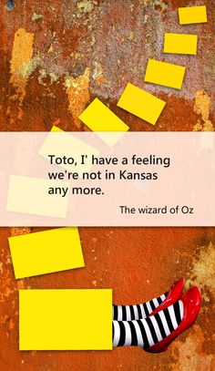 Wizard of Oz travel quotes