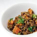 This savory, satisfying salad offers an earthy balance to the start of any meal. It's also great served as a side dish or light lunch. on goop.com. http://goop.com/recipes/lentil-sweet-potato-salad/