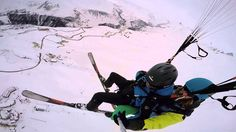 009185 paragliding gudauri полеты гудаури