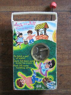 I don't remember the back but I absolutley had a Jack-and-Jill toy radio!!  Fisher Price TV/Radio (back)