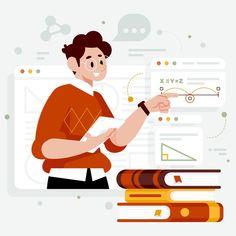 Illustration Design Plat, Illustration Plate, People Illustration, Character Illustration, Character Web, Character Design, Vector Design, Vector Art, Design Web