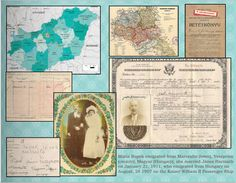 """Genealogy Photo Book - used scanned in recipe cards and old family photos combined with new family pictures and journaling to make a family """"scrapbook"""" except instead of a one of a kind, this can be printed in multiples and given as gifts to family!"""