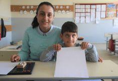 Görme Engelli Öğrencisi için Braille Alfabesini Öğrenip Okuma Yazma Öğretti Website
