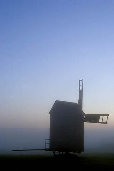 Rälby windmill, Vormsi island, Estonia