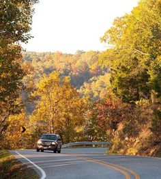 Eureka Springs Arkansas.  This looks like Hwy. 62 right before you get to Hidden Valley Guest Ranch.