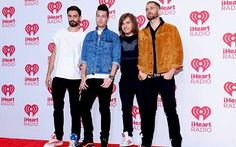 At the iHeart radio music festival