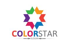 Color Star Logo by Josuf Media on Creative Market