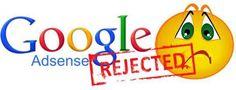 Tips Jika Di Tolak Google Adsense