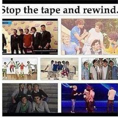Can we fall one more time? Stop the tape and rewind