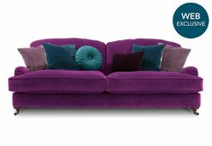 Isabelle 3 seater sofa - Harlequin - Gorgeous Living Room Furniture from Furniture Village